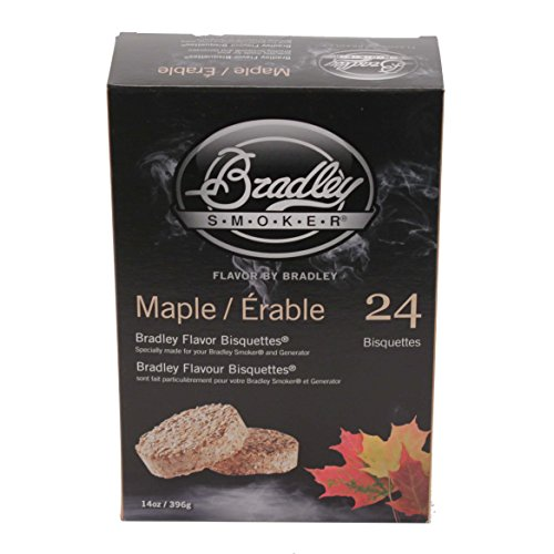 BRADLEY MAPLE FLAVOUR SMOKERS BISQUETTES by Bradley Smoker