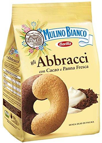 3x Mulino Bianco Kekse Abbracci 700g Italienisch biscuits cookies kuchen brioche