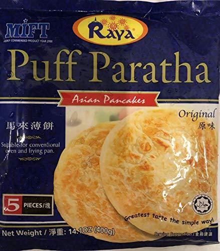 Puff Paratha Asian Pancakes (Original) - 14.1oz (Pack of 6)