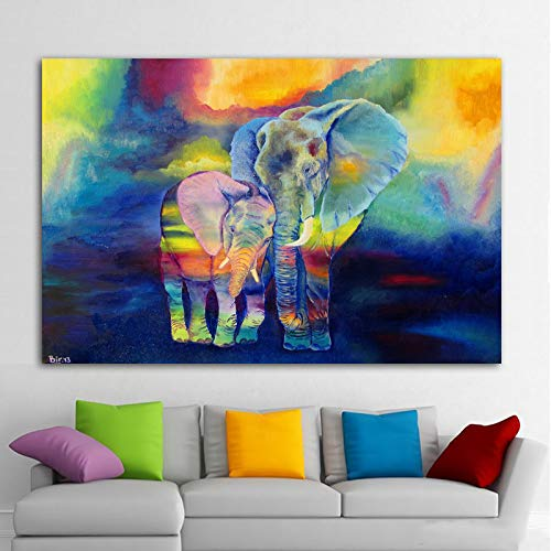 HGlSG (No Frame) 40x60cmART Girl Color Abstract Pictures Canvas Painting Wall Art For Living Room Modern Decorative Picture Posters