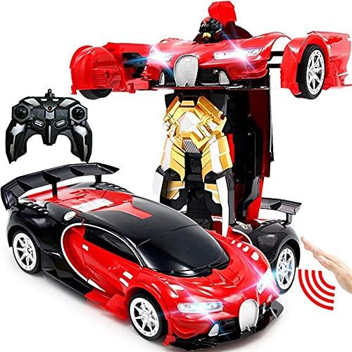 Transformers Control Remoto Coche 1:16 Control de radio RC Robots de deformación...