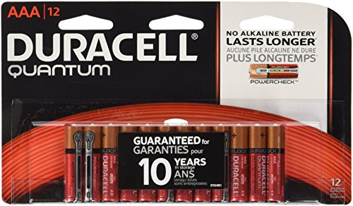 Price comparison product image Duracell Quantum Alkaline AAA Batteries,  12 Count