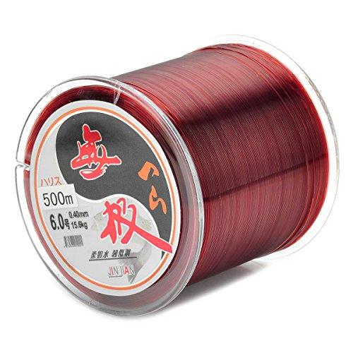 500M línea de pesca hilo de resina en 0,40mm de...