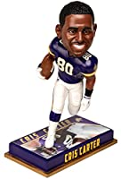 Forever Collectibles NFL Minnesota Vikings Mens Minnesota Vikings Bobblehead - 8 - Retired Player - CRIS Carter #80 - Special Order, Team Colors One Size
