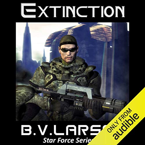 Extinction audiobook cover art