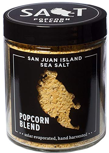 Great Features Of Popcorn Seasoning by San Juan Island Sea Salt
