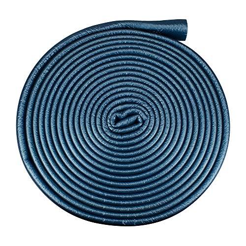 Isolierschlauch Isolierung Heizungsrohre Isolierfolie 35 mm / 6 mm Blau | Rohrisolierung Rohr Schaumstoff Rund Heizungsrohr PE PEX Fußbodenheizung Wasserleitung Zentralheizung
