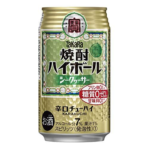宝酒造 焼酎ハイボール シークァーサー 下町缶春夏Nケース 350X24