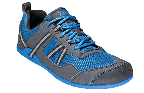 Xero Shoes Prio - Men's Minimalist Barefoot Trail and Road Running Shoe - Fitness, Athletic Zero Drop Sneaker - Imperial Blue