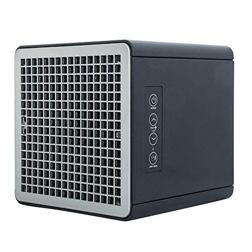 Pure Air Purificador de Aire, FB, Home 55, Sistema Portátil para Desinfectar Toda Clase de Ambientes y Superficies de Cualquier Virus y Bacterias Permanentemente, Negro