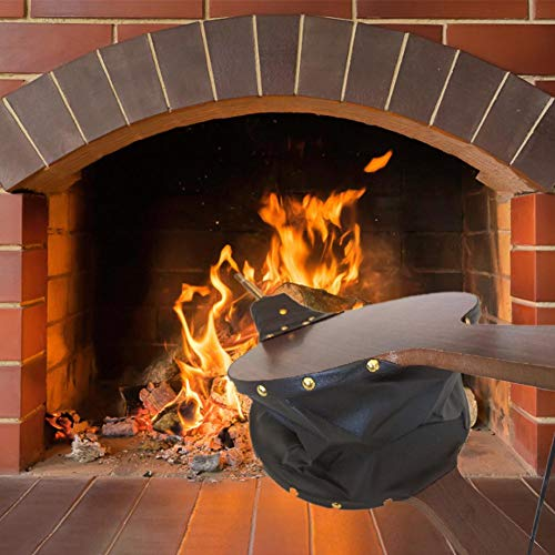 Learn More About settlede Wooden Fireplace Blower, Manual Blower Leather Blower, for Fireplaces, BBQ...