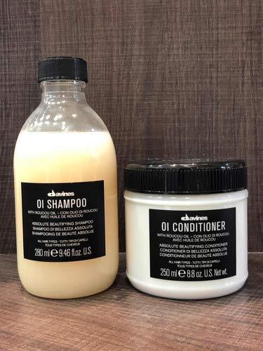 Davines Oi Kit Duo Shampoo + Conditioner + Brinde