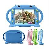 CHIN FAI iPad Mini Case pour Enfants Antichoc Silicone en Caoutchouc Couverture Cartoon Robot Stand...