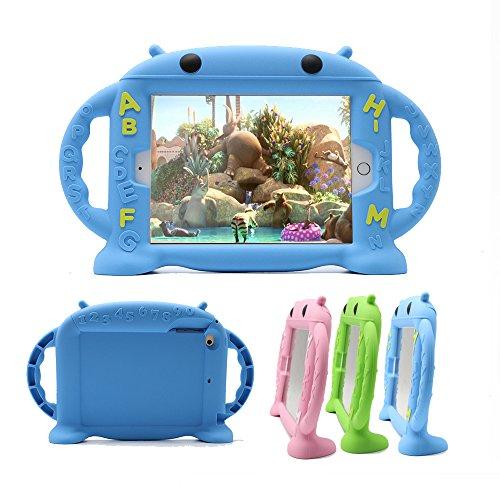 iPad Mini 4 Caso,iPad Mini 2/Mini 3/Mini 5 Caso, CHINFAI amistoso de Dibujos Animados Funda de Silicona Protectora portar la...