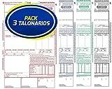 Pack 3 Talonarios CMR Transporte Internacional | Acordes a la legislación vigente