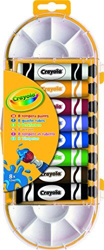 Crayola 8 Tubes of tempera paint Tempera paint 12ml 8pezzo(i)