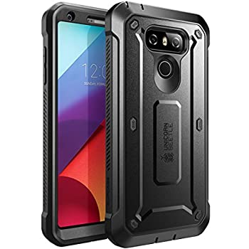 SUPCASE LG G6 Case LG G6 Plus Case Unicorn Beetle PRO Series Full-Body Rugged Case with Built-in Screen Protector for LG G6 Case/LG G6 Plus 2017 Release  Black
