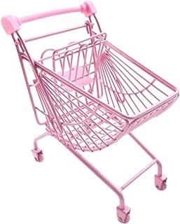 NUOBESTY Mini- varuvagn leksak handvagn shoppingvagn mobiltelefon hållare förvaringskorg nyhet förvaringsleksaker för hem ...