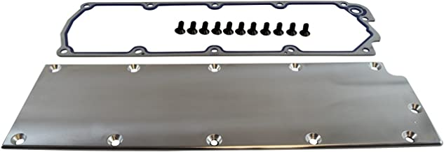 LS Gen4 Valley Cover Plate Billet Aluminum L99 LS3 DOD Delete With Gasket VC11GSS