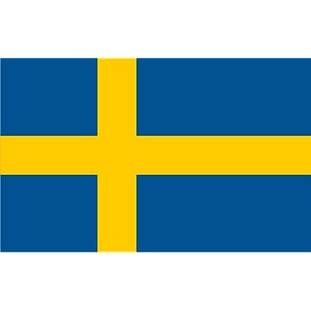 Michael Rene Pflüger Barmstedt 8 4 X 5 4 Cm Autoaufkleber Schweden Sverige Sweden Aufkleber Sticker Fürs Auto Motorrad Handy Laptop Outdoor Indoor Auto