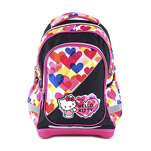 TARGET Superlight Hello Kitty Hearts Schulrucksack, 43 cm, Mehrfarbig (Multicolore)