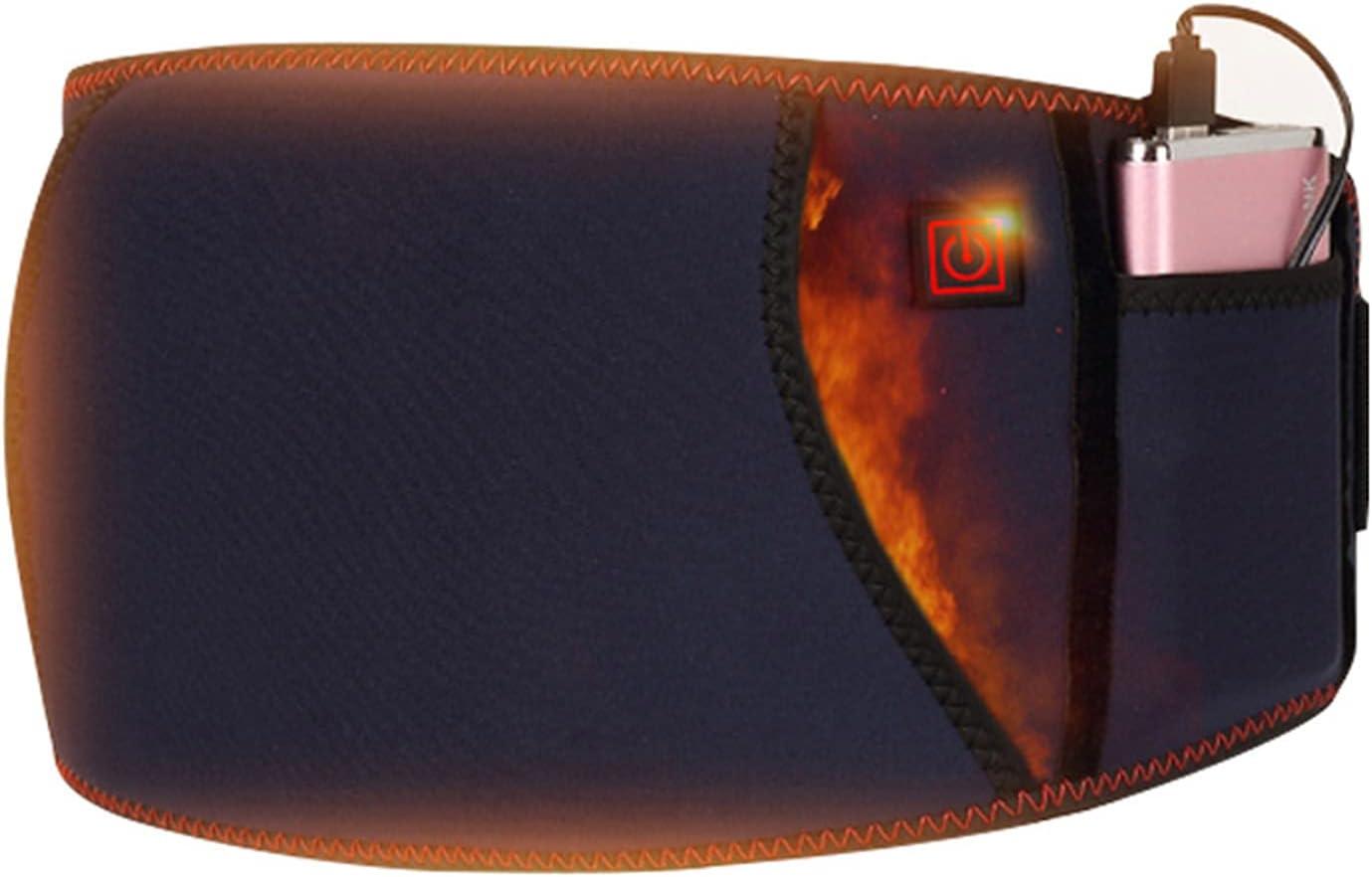 DEG Electric Heated Waist Belt SALENEW very popular Max 48% OFF wrap Heat 3 Fast Heating Pad with