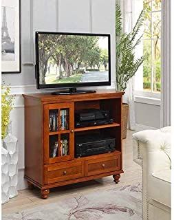 Convenience Concepts 8067000CH Tahoe Highboy TV Stand