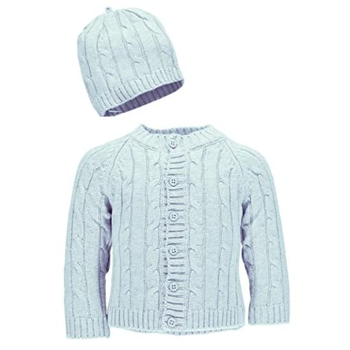 Baby-Dove-Cable-Knit-Cardigan-Beanie-Set-Blue