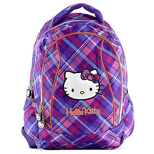 Hello Kitty 00595 Target Zaino Scuola, Viola