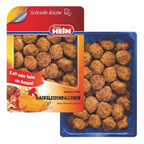 Grobe Hackfleischbällchen ohne Zusatzstoffe! / Frikadellen aus Schweinefleisch und Rindfleisch 60x20g von Dieter Hein