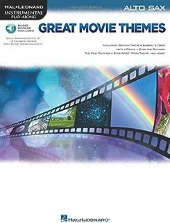 Great Movie Themes: for Alto Sax Instrumental Play-Along (Hal Leonard Instrumental Play-along)