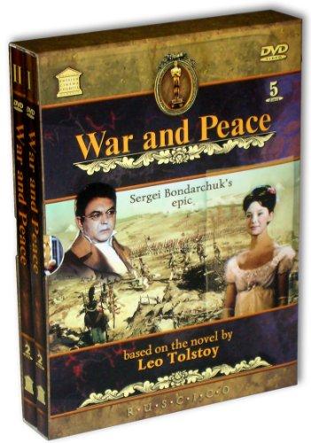 Vojna i mir (Krieg und Frieden) (Engl.: War and Peace) (RUSCICO) (5 DVD) (PAL) - russische Originalfassung