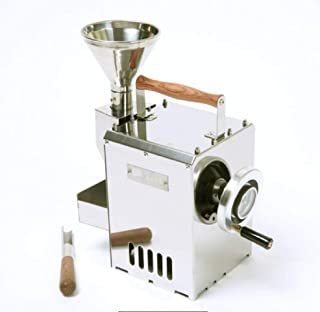 KALDI Home Coffee Roaster Hand Operated Type with Gas Burner (Manual) Including Sampler and Hopper