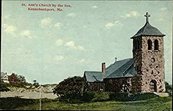St. Ann's Church by the Sea Kennebunkport, Maine Original Vintage Postcard