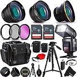 Ultimate 37 Piece Accessory Kit for Sony Alpha a7II, a7IIK, Alpha 7 II, Alpha, 7, 7S, 7R, Alpha 7, Alpha a5100, a6000, a5000, a3000, NEX-3, NEX-3N, NEX-5N, NEX-5R, NEX-5T, NEX-6, NEX-7 Cameras