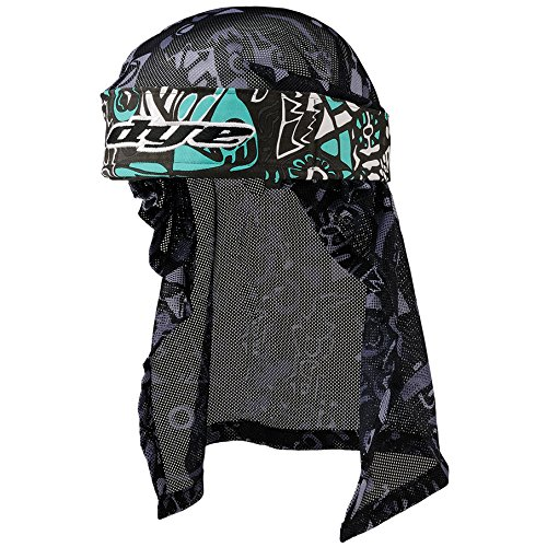 Dye Stirnband Head Wrap - Protecciones de Airsoft, Color Turquesa, Talla OneSize