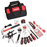 FASTPRO 215-Piece Home Repairing Tool Set with 12-Inch Wide Mouth Open Storage Bag