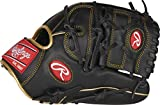 Rawlings R9 Series Baseball Glove, 2-Piece Solid Web, 12 inch, Left Hand Throw