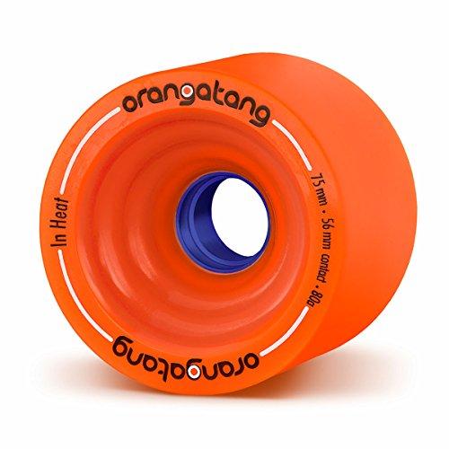 Orangatang Longboard RÃ InHeats 75mm 80a Rollen