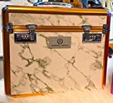 Imperial Riding Shiny Grooming Box One Size White Marble