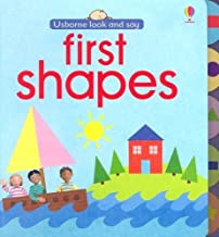 First Shapes (Usborne Look and Say) by Felicity Brooks (2007-01-01)