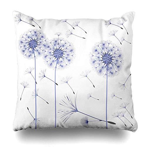 Fodere per cuscini da tiro Colore Blu Biologia Dente di...