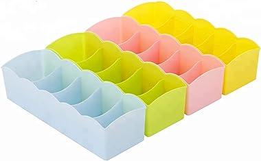 TP Incorp Multipurpose Storage Drawer Organizer, Multicolour, Standard, 3.34 X 10.43 X 2.55 Inches