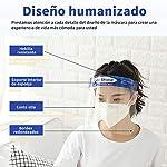 10Pcs Pantalla Protección Facial-FUSIYU Protector Facial Antivaho,Visera de protección facial,Reutil... #6