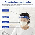 Pantalla Protección Facial - 10 Pcs Protector Facial de Seguridad, Cómoda, Visera Ajustable, Reutili... #6