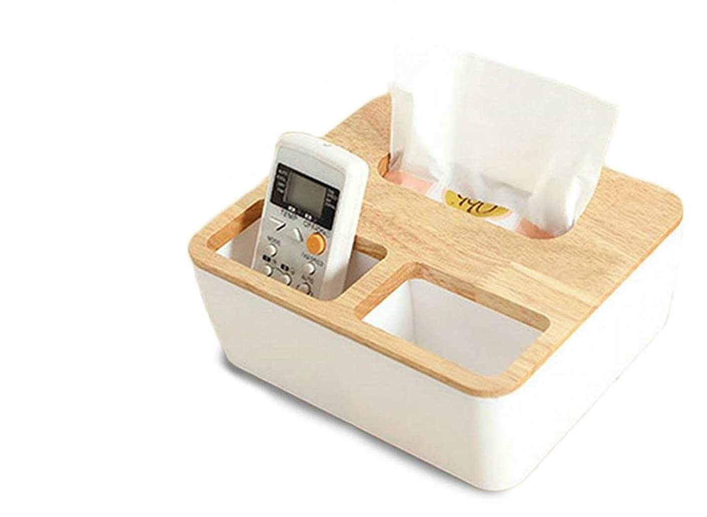 セーターオークランド箱TohoRyu 収納ボックス ティッシュケース 卓上 多機能収納 おしゃれ シンプル デザイン インテリア