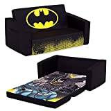 Batman Cozee Flip-Out Sofa - 2-in-1 Convertible Sofa to Lounger for Kids by...