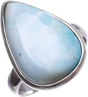 raw larimar ring