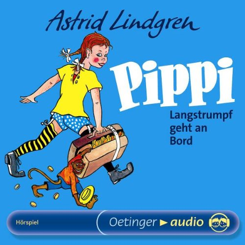 Pippi Langstrumpf geht an Bord (CD): Hörspiel