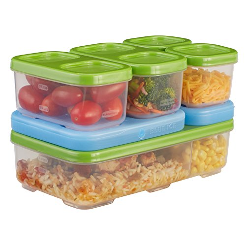 Rubbermaid LunchBlox Entrée Kit, Green 1806233